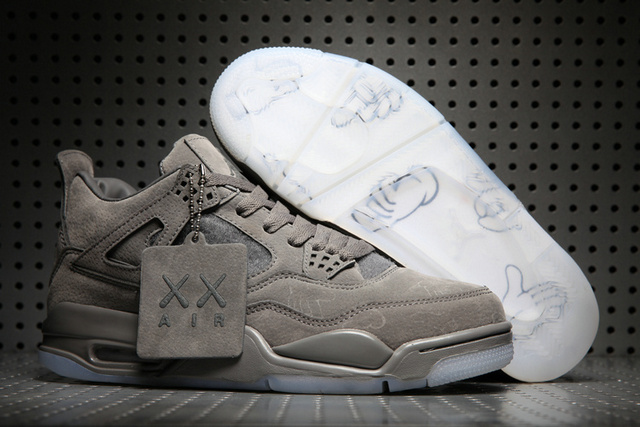 Discount Air Jordan 4 x KAWS SKU 128161